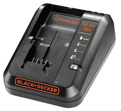 Black and Decker - 1A Fast Charger for 144V and 18V Lithiumion Batteries - BDC1A