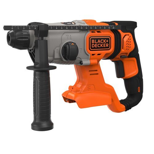 Black and Decker - 18V Cordless SDSPlus Hammer Drill with Kit Box Bare Unit - BCD900B