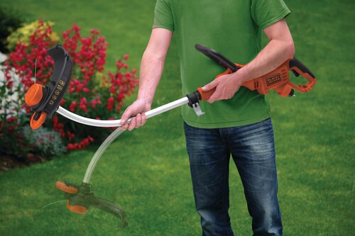 Black and Decker - 33cm 700W Electric Strimmer Grass Trimmer - GL7033